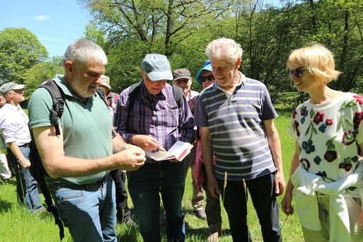 Exkursion im Moosalbtal  (Foto: Rebecca Diringer)