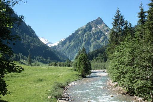 Urlaubseindrücke aus dem Oberallgäu - Hintersteiner Tal (G. Franke, 2019)