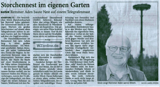 Wilhelmshavener Zeitung v. 6.12.2014