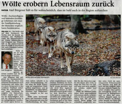 Jeversches Wochenblatt v. 17.2.2015