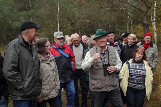 Exkursion Hopelser Forst      -     Foto:  A. Bürgener