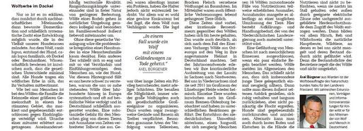 Jeversches Wochenblatt v. 08.04.2015    -   zum Vergrößern bitte anklicken