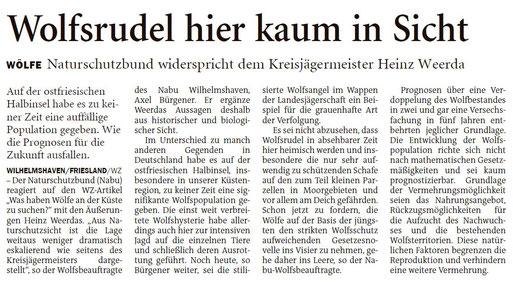 Wilhelmshavener Zeitung 05.02.2020