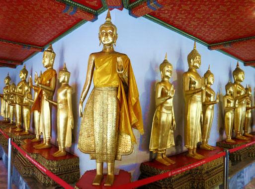 Tempelgelände Wat Pho in Bangkok