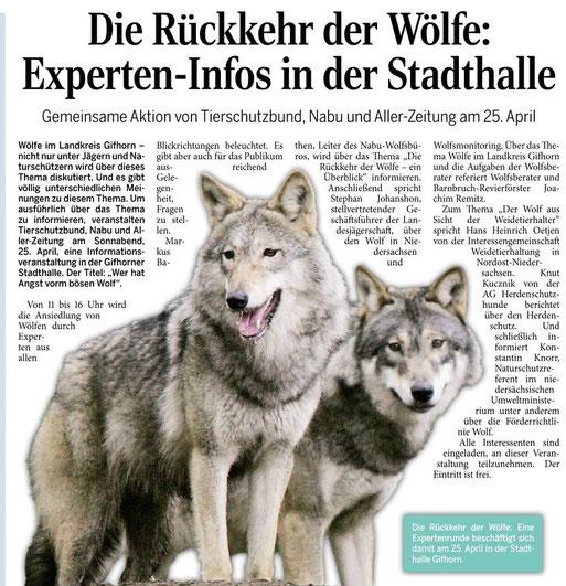 Aller Zeitung vom 04.04.2015