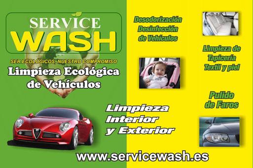 Service wash
