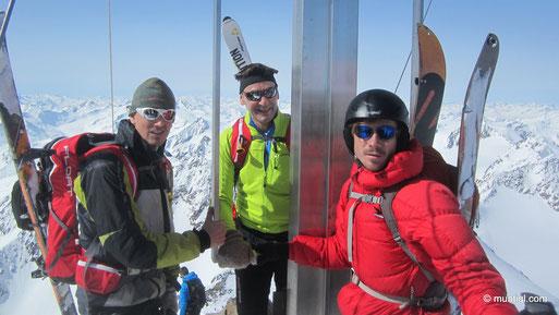 Standen nach gut 2h am Gipfel - Berg heil!!