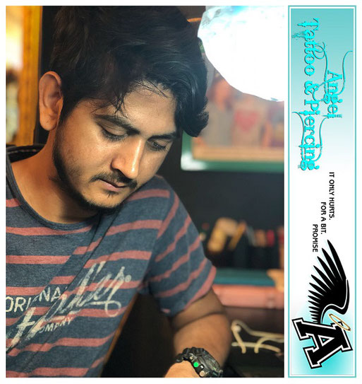 professional tattoo training at angel tattoo studio secunderabad hyderabad
