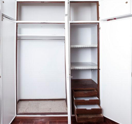 Vacía los armarios siempre antes de organizarlos - AorganiZarte