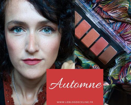 maquillage automne blog beauté