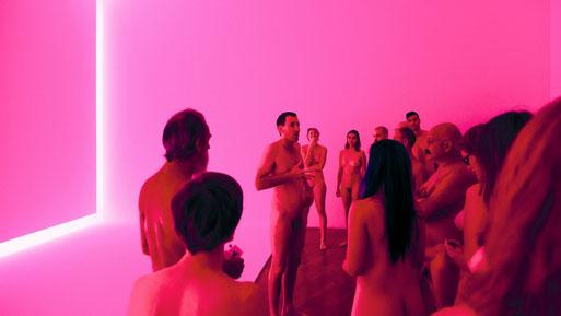 Nudist tour, Stuart Ringholt, National Gallery of Australia, James Turrell, Julia Rajacic