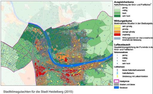 Quelle: Stadtklimagutachten für die Stadt Heidelberg (2015)