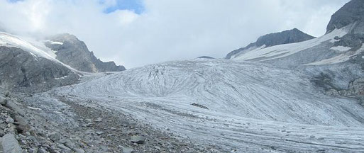 Gletscher Gliederferner