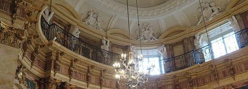 Der Marmorsaal im Stuttgarter Schloss - ein angemessenes Setting