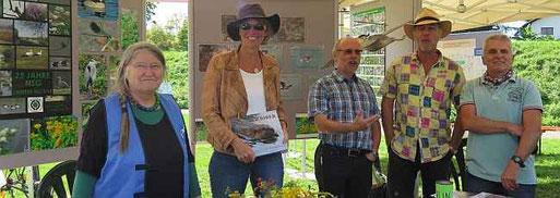 Der AUN: Regine Buyer, Maike Petersen, Karl-Friedrich Raque, Thomas Matuszek