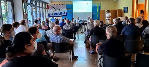 Mitgliederversammlung 2021. Foto: M. Petersen