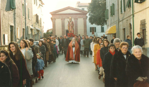 Processione S. Biagio 1992