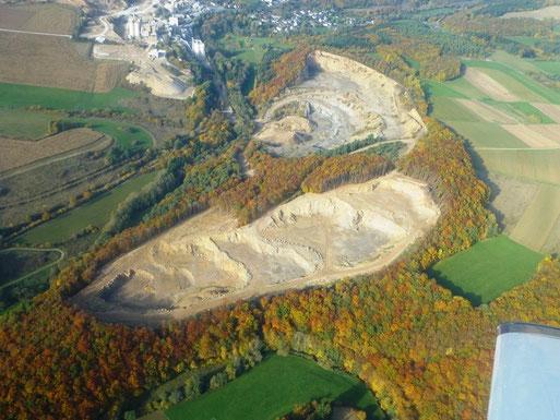 Kalkgrube im Ahbachtal bei Üxheim-Ahütte