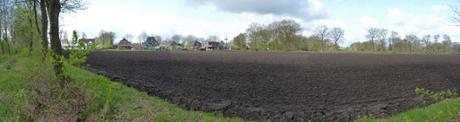 Panoramabild vom neuen Baugebiet, Foto Henning Cordsen