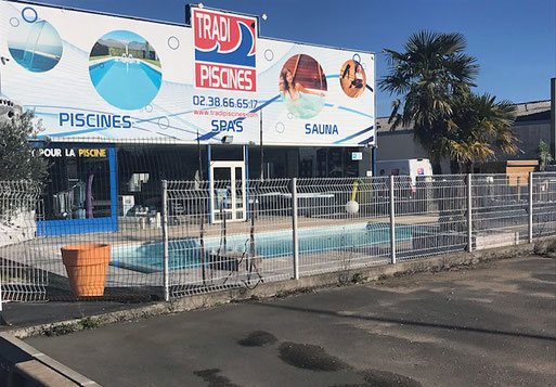 Magasin Tradi Piscines à Saint-Privé-Saint-Mesmin (45)