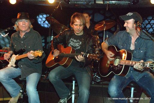 Bestens aufgelegt: Major Heuser & Band. Fotos (2): Onkel Hotte.
