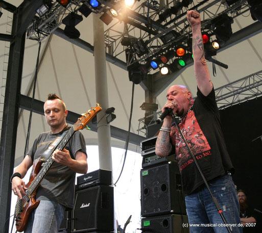 PAUL DI'ANNO 2007 beim Rock Hard Festival. Fotos (5): Niels Holger Schmidt