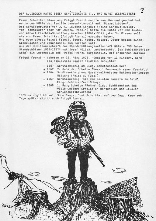 aus: Dr ghülpet Bott, Sulzbodäziiig, 1976, Seite 7