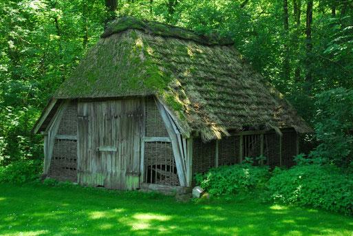 Der Stall soll im Mitmach- und Erlebnisgarten MEGa in Rotenburg eine Mitmach-Fotoausstellung beherbergen. Der NABU hofft auf ein Richtfest noch in diesem Jahr.