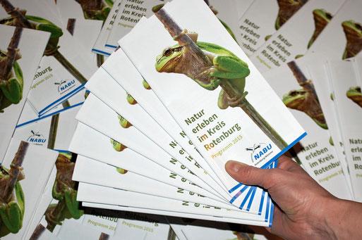 37 Veranstaltungen auf 36 Seiten: das neue Jahresprogramm des NABU Rotenburg.