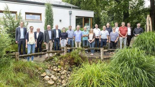 Vertreter von acht Institutionen trafen sich zur Gründungsversammlung (Foto: Franz Frieling)