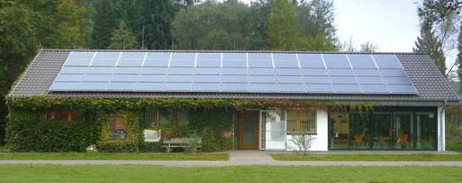 Naturschule Aggerbogen mit Solardach
