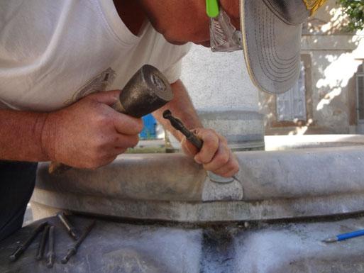 restauration-fontaine-pierre-taille-var-83