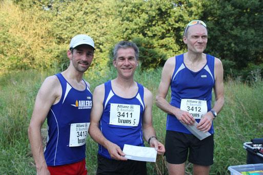 Die Sieger vom Team Laufrausch