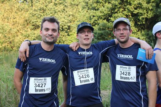 Das Team der Firma Vierol AG belegte den dritten Platz