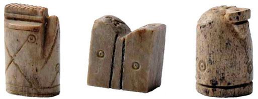Pièces d'échecs Château de Bressieux XIIIe siècle