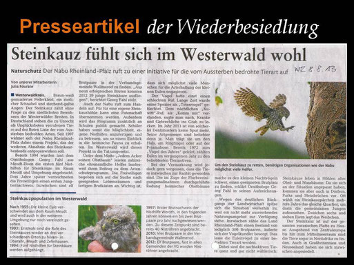 Presseartikel: Westerwälder Zeitung