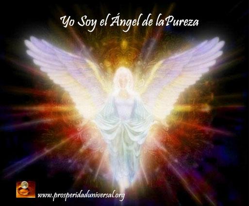 ÁNGELES DE LA LUZ DIVINA - YO SOY EL ÁNGEL DE LA PUREZA - PROSPERIDAD UNIVERSAL -www.prosperidaduniversal.org