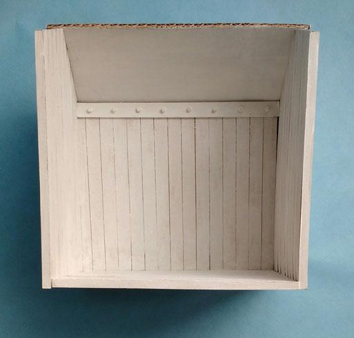 Miniatur-Gartenhäuschen Anleitung