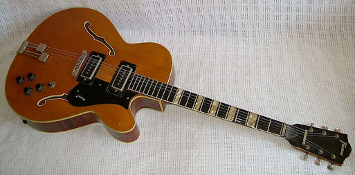 Framus Missouri, early 70s, everything stock, original and working well.