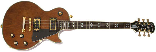 2015 Epiphone Lee Malia Les Paul Artisan Limited Edition. I have no idea who Lee Malia is, but unlike the original Gibson this Epiphone has a mahogany neck and a normal tailpiece. I `ve gotta have one....