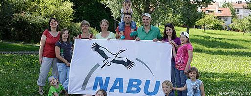 NABU Familien-Mitglied werden - Freunde in einer starken Gemeinschaft finden!