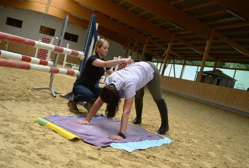 Physiotherapie Dorn Therapie Reitunterricht Würzburg Nürnberg Reiten Dressur Gymnastik Sitz Übungen