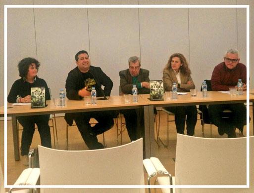 Presentació d'Herba negra a la Biblioteca Carles Rahola de Girona