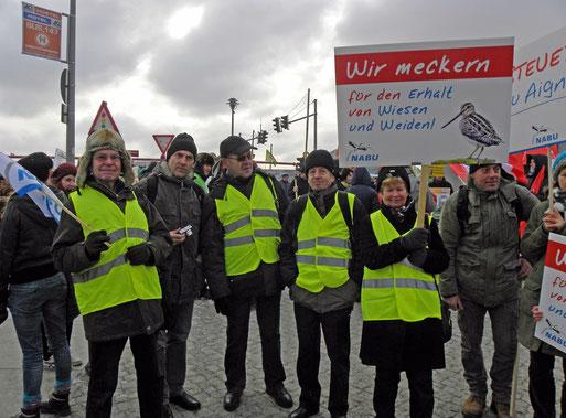 Unsere Delegation am Berliner Hauptbahnhof