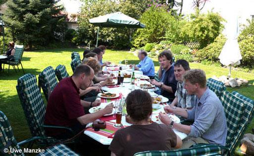 Die Teilnehmer des 2. Jahrestreffens des LFA Feldherpetologie und Ichthyofaunistik in Niedersachsen.