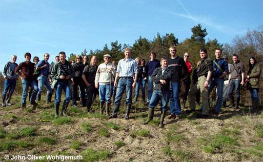 Die Teilnehmer des 5. Jahrestreffens des LFA Feldherpetologie und Ichthyofaunistik in Niedersachsen