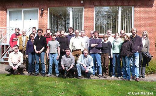 Die Teilnehmer des 3. Jahrestreffens des LFA Feldherpetologie und Ichthyofaunistik in Niedersachsen.