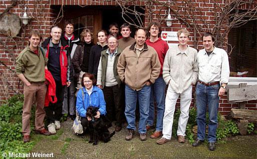 Die Teilnehmer des 1. Jahrestreffens des LFA Feldherpetologie und Ichthyofaunistik in Niedersachsen.
