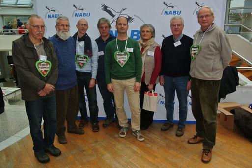 Vertreter der NABU-Gruppen im Landkreis Ludwigsburg besuchen die LVV