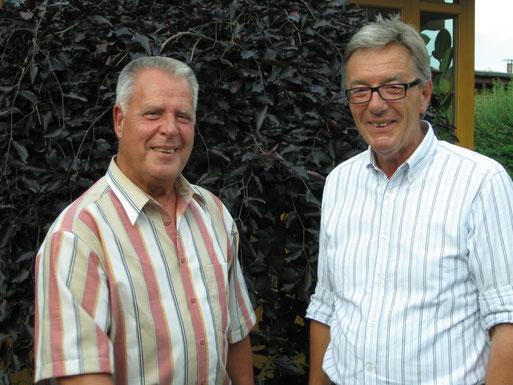 Herbert Küsters und Rolf Brandt